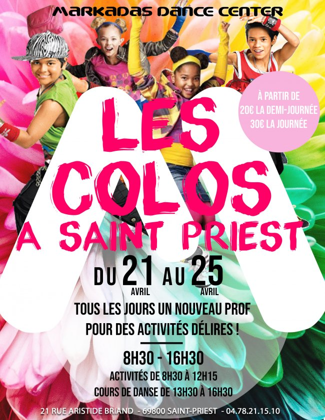 Flyer Colos'M Saint Priest Octobre
