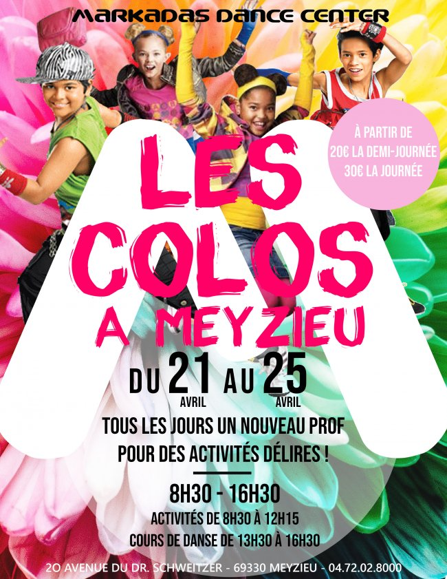 Flyer COLOS'M MEYZIEU OCTOBRE